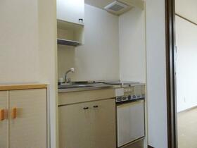 サンハウス1・2 A号室のキッチン