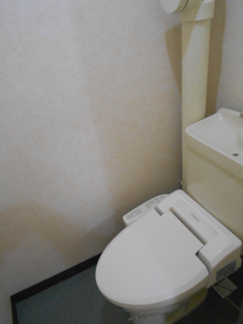 シルキーマンション 402号室のトイレ