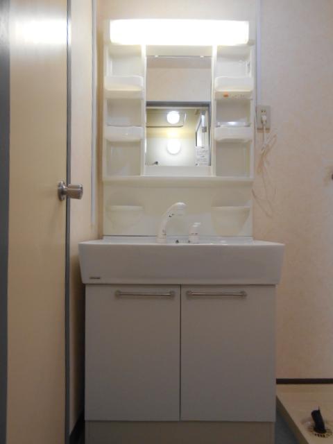 シルキーマンション 402号室の洗面所