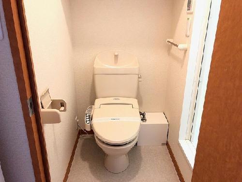 レオパレスエイティーン 101号室のトイレ