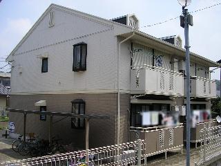 メゾンベール弐番館の外観