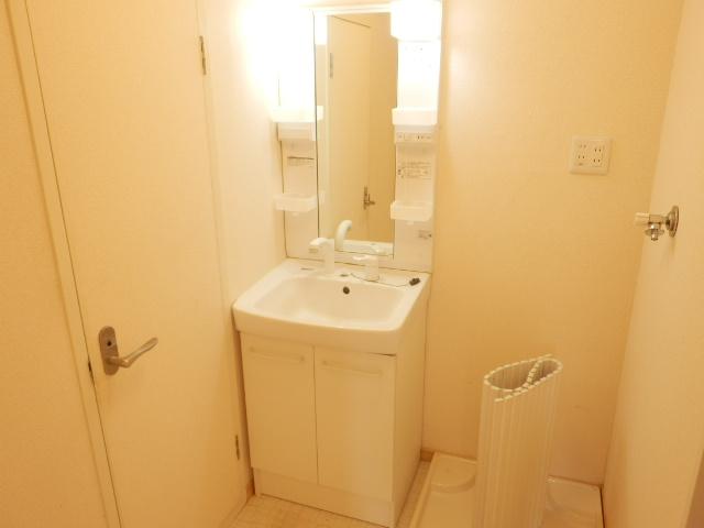 コンフォール蜆塚 206号室の洗面所