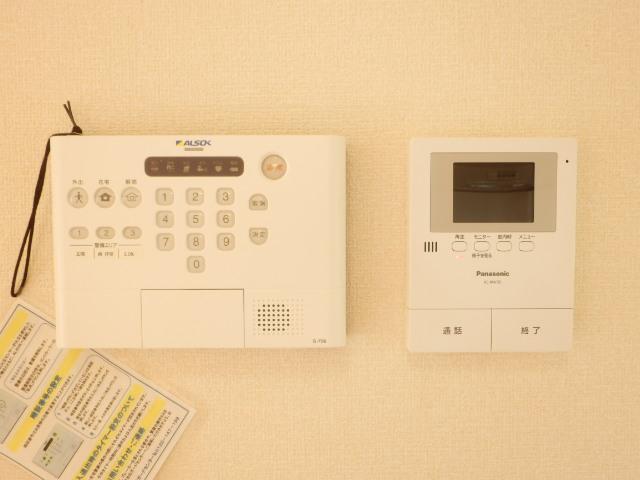 コンフォール蜆塚 206号室のセキュリティ