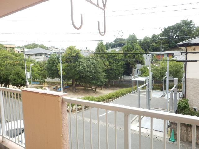 コンフォール蜆塚 206号室の景色