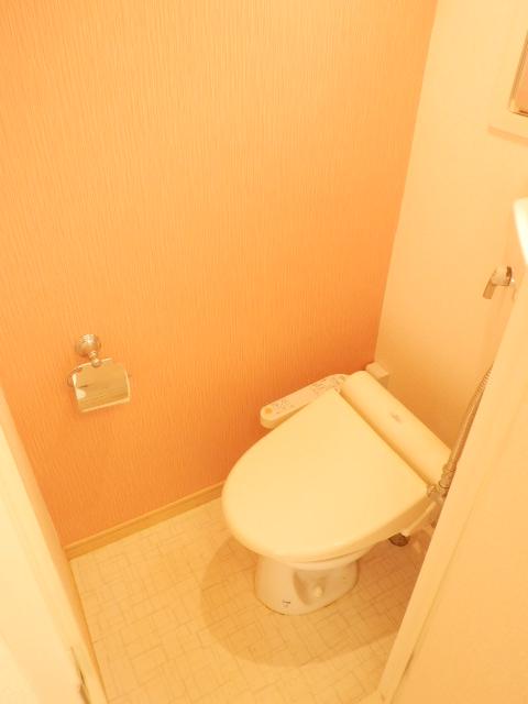 コンフォール蜆塚 206号室のトイレ
