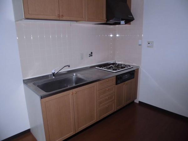 メモリータイム 303号室のキッチン