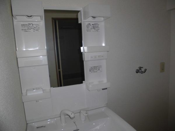 メモリータイム 303号室の洗面所