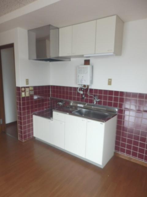 ネットプラスビル 501号室のキッチン