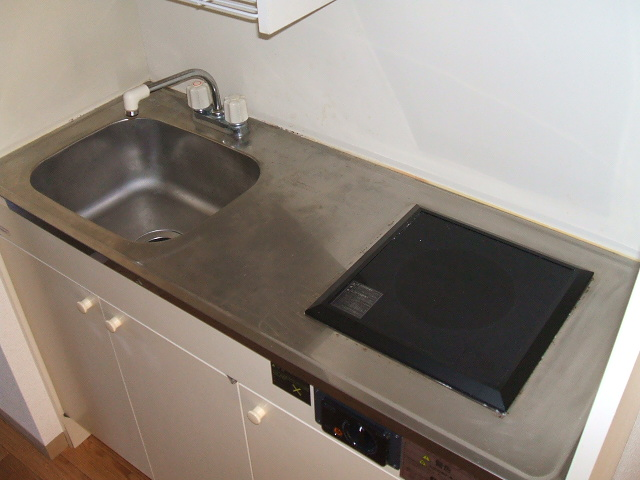 グランドハイツ布橋 105号室のキッチン