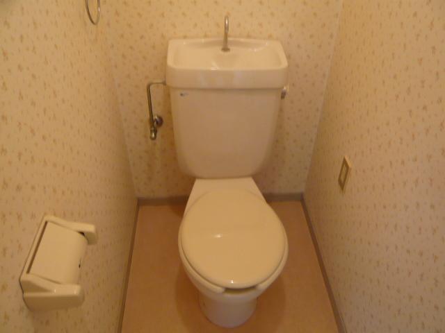 ドミールばんの 303号室のトイレ