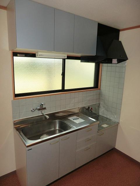 ラ・プラージュ 102号室のキッチン