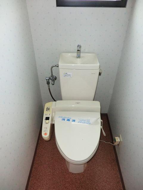 ラ・プラージュ 102号室のトイレ