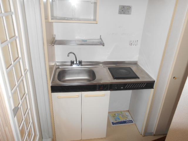 ホルスコート 102号室のキッチン