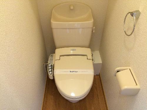 レオパレスSKY 302号室のトイレ