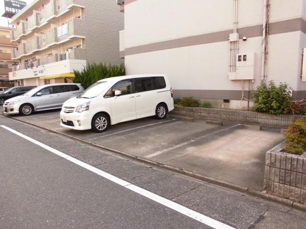 ラメゾンエスポワールⅡ 202号室のバルコニー