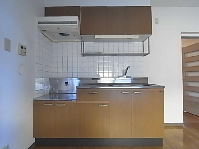 アビタシオンⅡ 102号室のキッチン