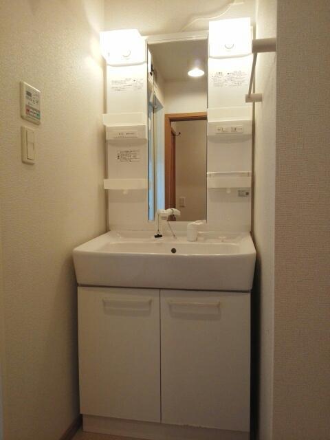 エレガント ヒルズ 02030号室の洗面所