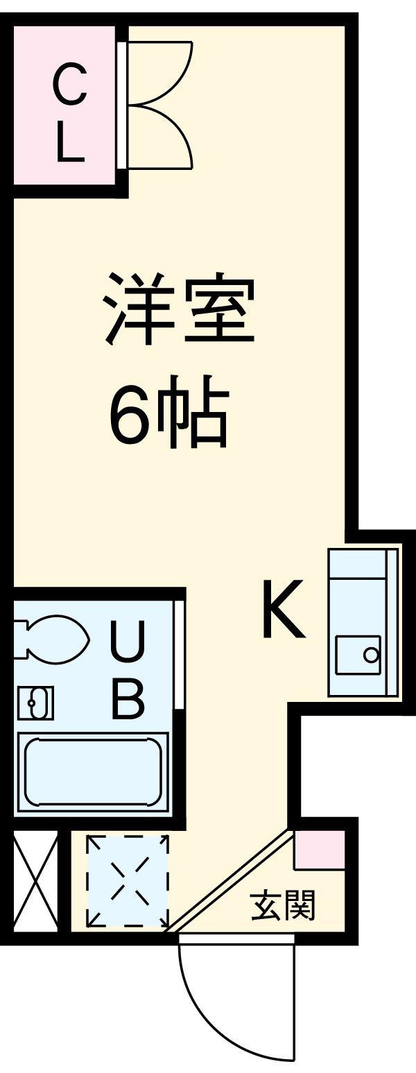 ドーム桜山 5C号室の間取り