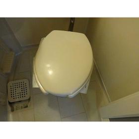 パレス大江 204号室のトイレ