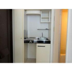 パレス大江 204号室のキッチン