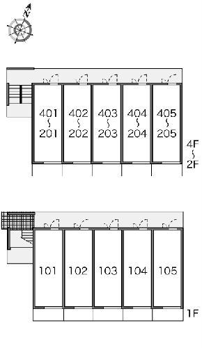 レオパレスエクセルケンFour 205号室のその他