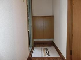 グットフィールド 101号室の玄関