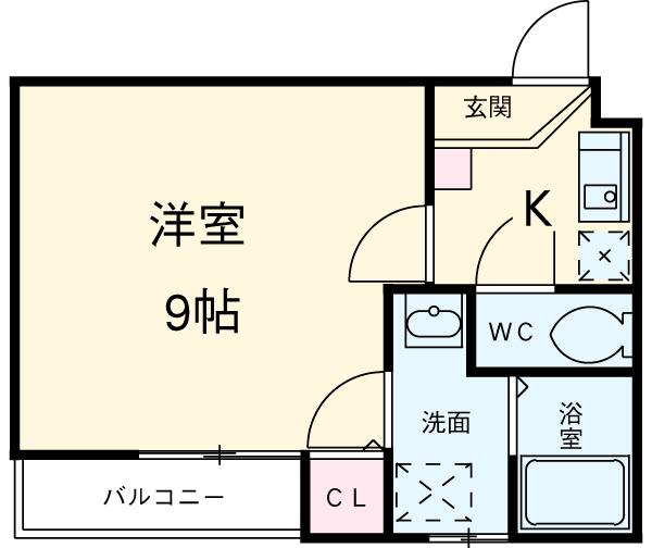 SUNCITY浜松駅南 202号室の間取り