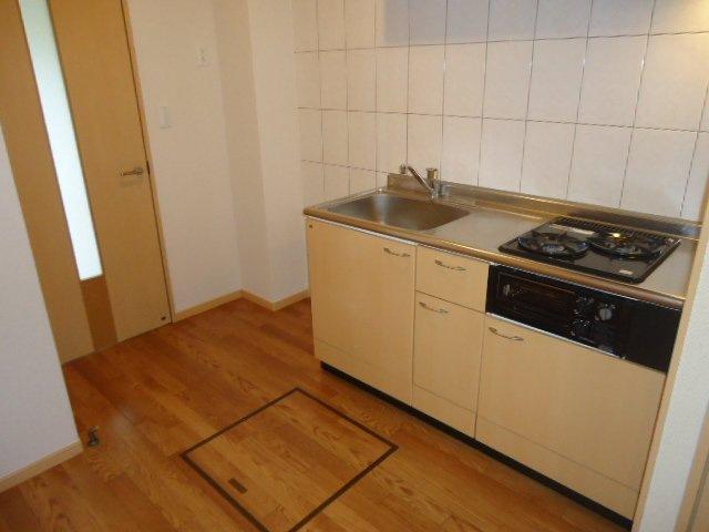 ヴァンベール 102号室のキッチン