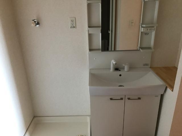 アンジュレーヴ 201号室の洗面所