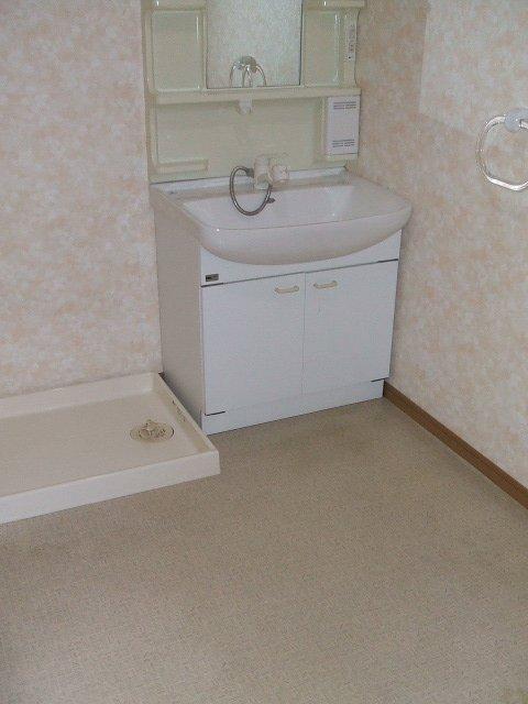 フェリス南平 404号室の洗面所