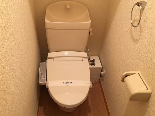 レオパレスあめやⅢ 101号室のトイレ