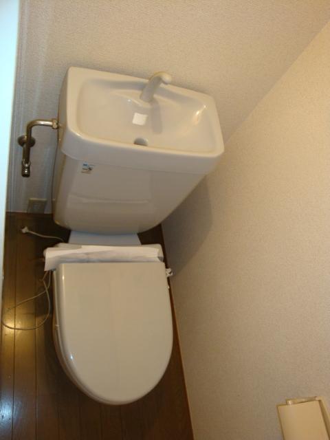 Vg.Tree 3C号室のトイレ