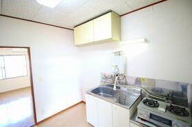 ヴィラ早野 203号室のキッチン