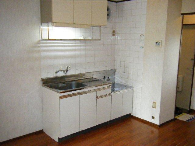 ロングアイランドヒルツ 204号室のキッチン