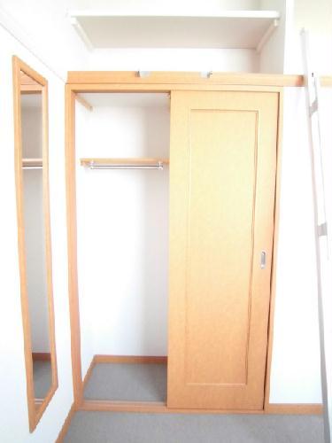 レオパレスガーデンヒルズ 203号室の収納