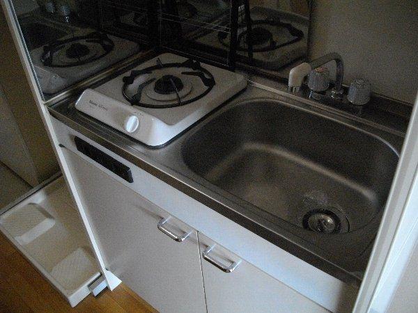 ブランドールJ 201号室のキッチン