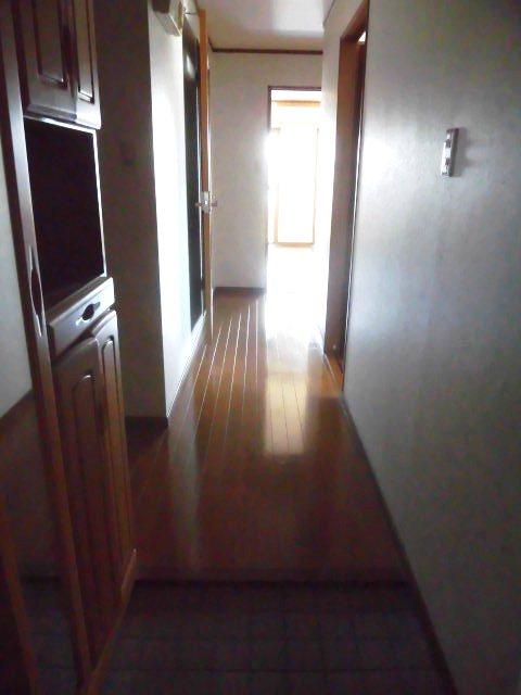 サンライズ入場 4D号室の玄関