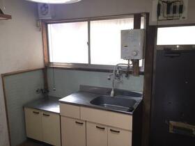 和幸荘 2号室のキッチン