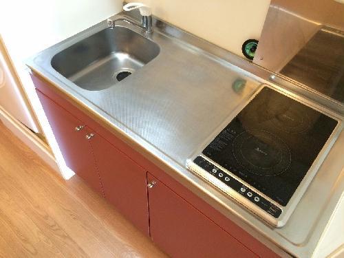 レオパレスSKY 202号室のキッチン