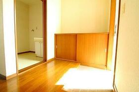 ファミリープラザF 202号室の玄関