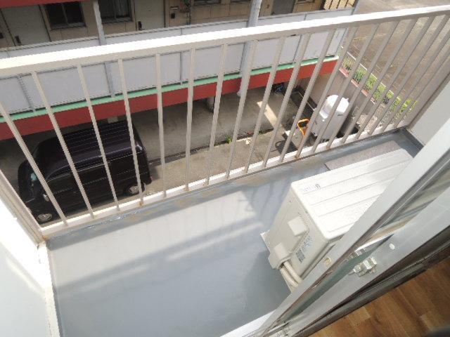 カワイハイツ 305号室のバルコニー