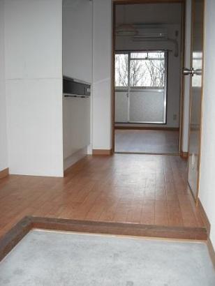 三好ヶ丘ハイツ 2-G号室の玄関