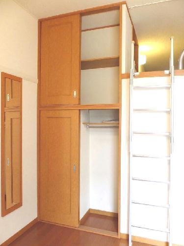 レオパレスユズ 104号室の収納