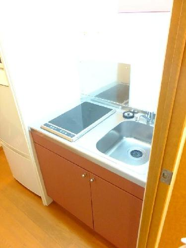 レオパレスMercury 203号室のキッチン
