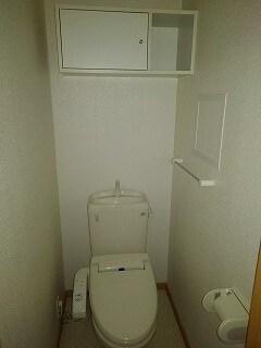 エレガント ヒルズ 02020号室のトイレ