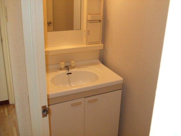 サンコナカ A-2号室の洗面所