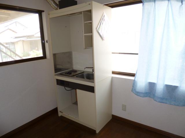 コーポ神田 201号室のキッチン