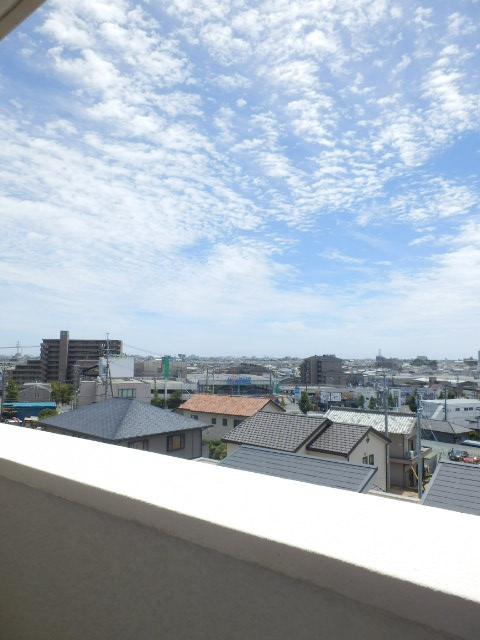 コーポ竹山A棟 301号室の景色