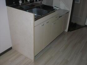 保冨コーポ 205号室のキッチン