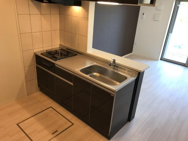 (仮称)大網白里市新築アパート 102号室のキッチン